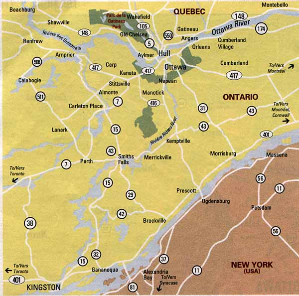 Ottawa Map Map Of Ottawa Ontario Canada Maps For Ottawa - Ottawa on the us map